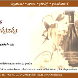 Poukázka Champagne