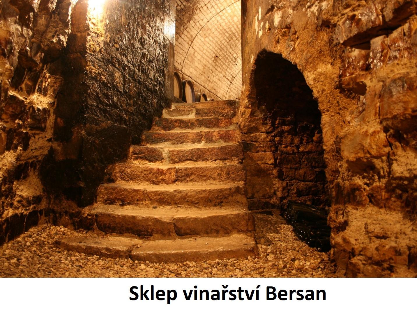 Sklep vinařství Bersan